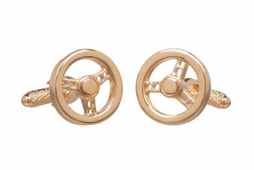 Car Steering Wheel Cufflink